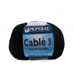 CABLE' 5 200. Negro